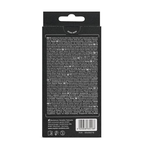 MY.SIZE 64 mm Condooms 10 stuks #3