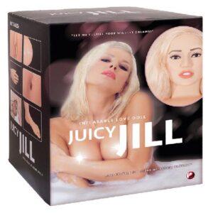 Juicy Jill - blonde opblaaspop #1