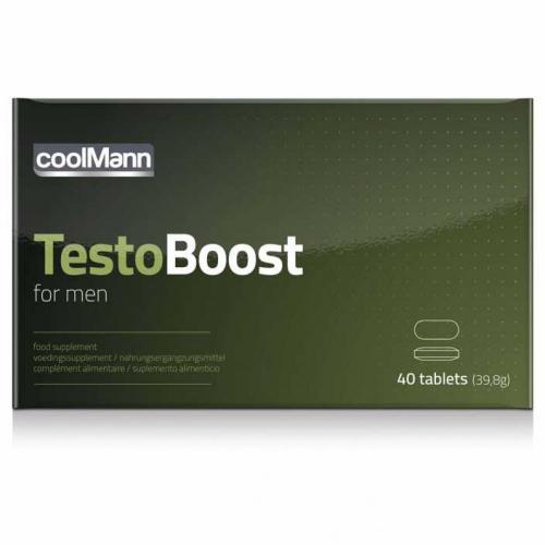 CoolMann Testoboost - 40 stuks #1