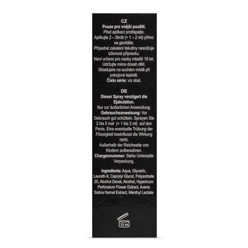 Orgasme Vertragende Spray - Black Stone #3