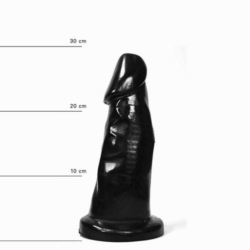All Black Dildo 29 cm #1
