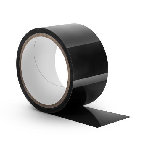 Temptasia - Zwarte Bondage Tape - 18 Meter #1