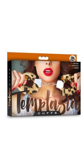 Temptasia - Pluche Verstelbare Handboeien - Luipaard #5