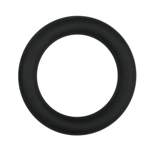 Easytoys Siliconen Cockring Large - Zwart #1