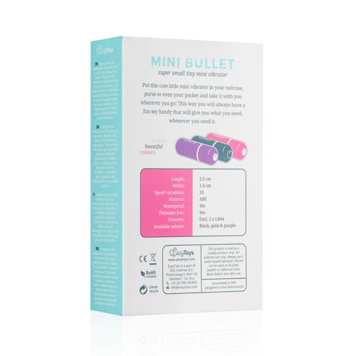 Bullet vibrator met 10 snelheden - paars #13