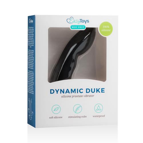 Dynamic Duke Prostaatvibrator - Zwart #9