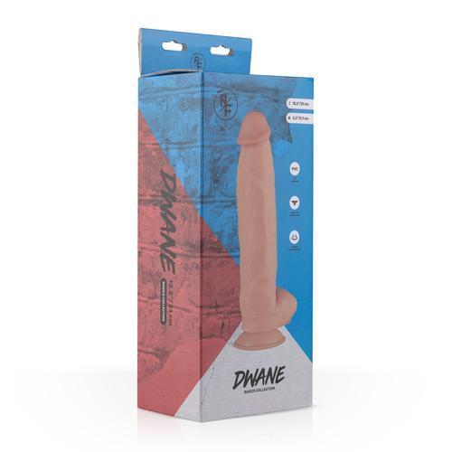 Dwayne Realistische Dildo Met Balzak - 24 cm #11